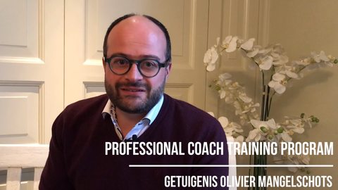 Getuigenis Olivier Mangelschots over het Professional Coach Training Program